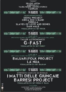 Manifesto Spazio Artim Es. n2