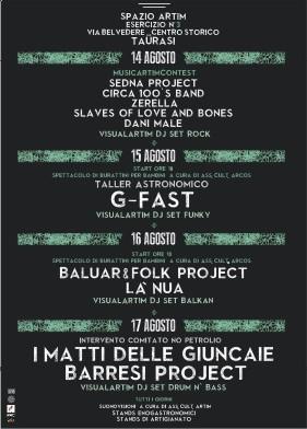 Manifesto Spazio Artim Es. n. 3 | Fiera Enologica 2013
